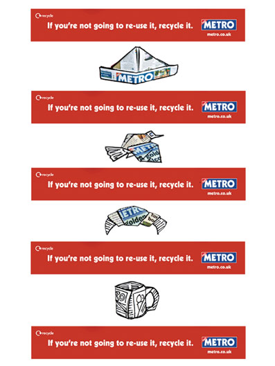 Metro recycle web banner
