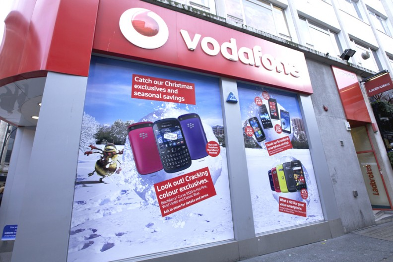 Vodafone Oxford St_Nov